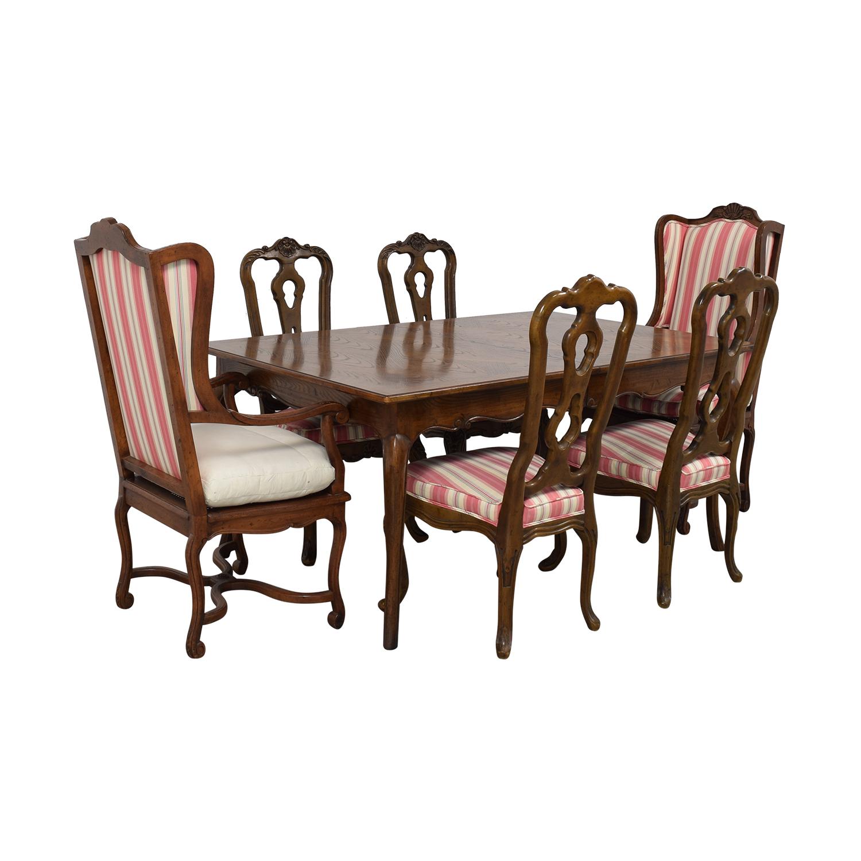 Hekman Furniture Upholstered Dining Set / Tables
