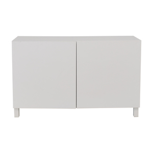 Large White Storage Cabinet second hand