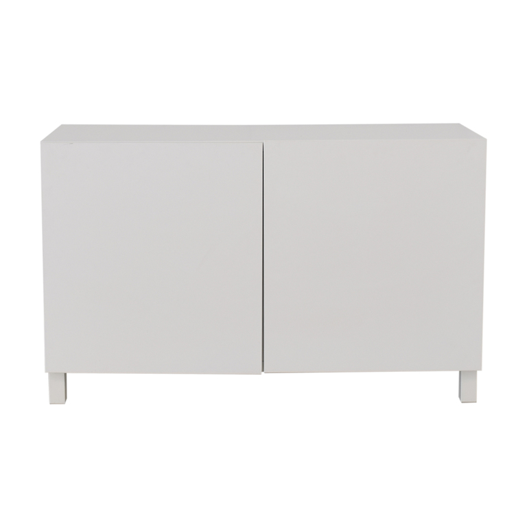 Large White Storage Cabinet dimensions