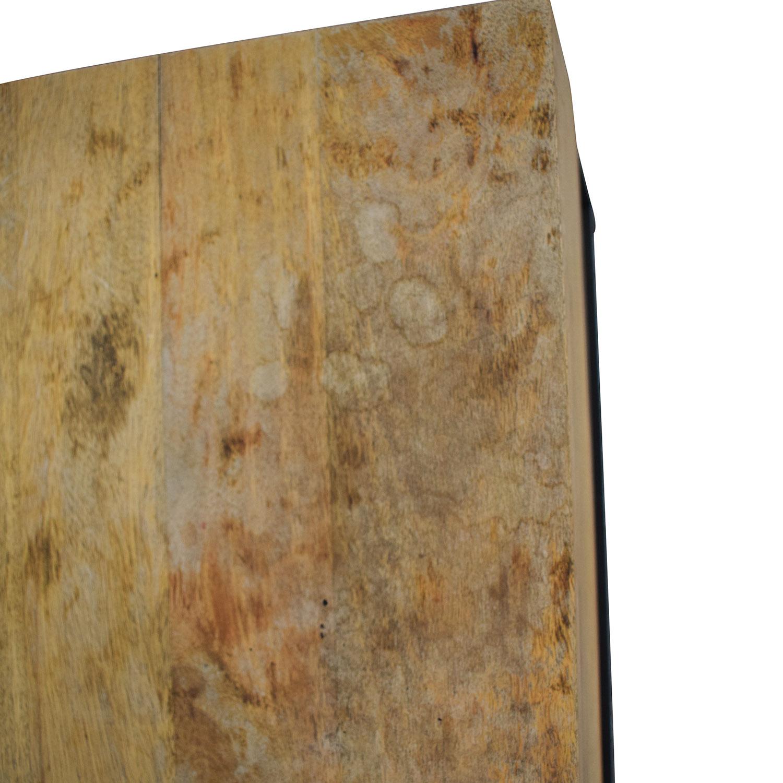 West Elm Raw Mango Lift-Top Storage Coffee Table / Coffee Tables