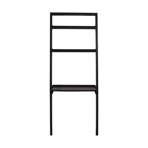 buy Crate & Barrel Grey Leaning Bookshelf Crate & Barrel