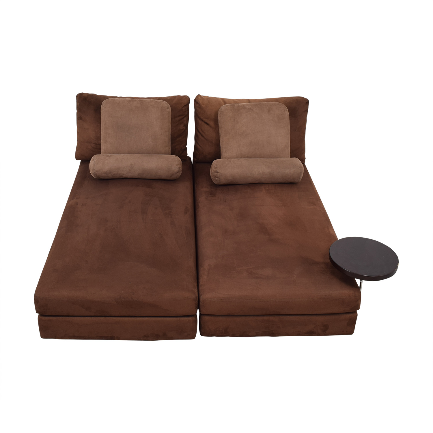 buy King Furniture Suede Chaise Sectional  Sectionals