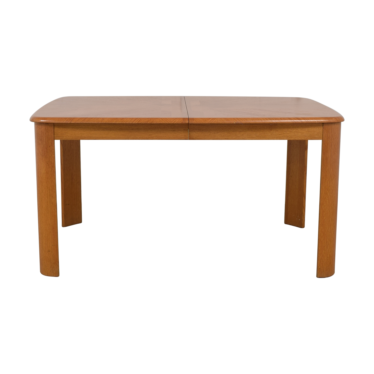 Raymour & Flanigan Wood Dining Table Raymour & Flanigan