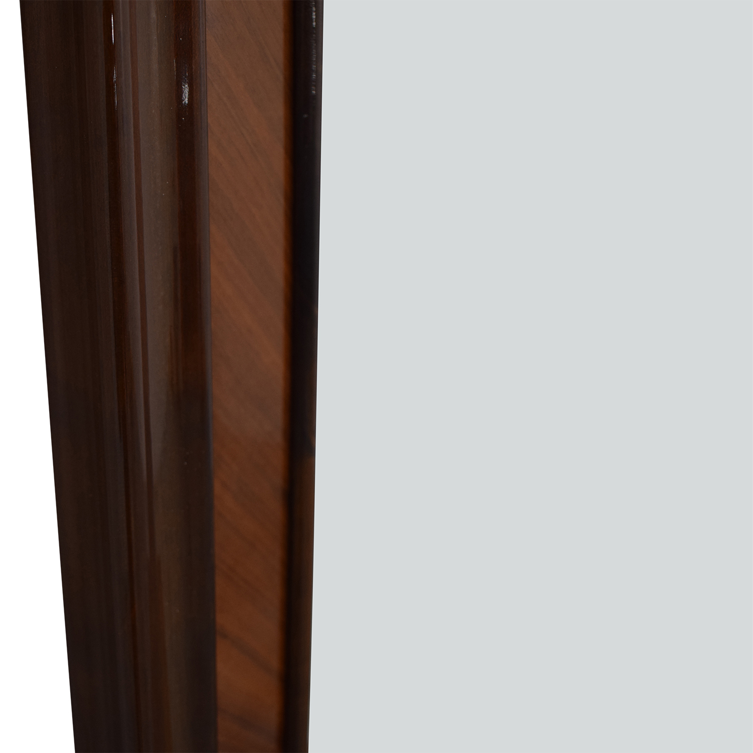 Roma Roma Wood Framed Wall Mirror brown