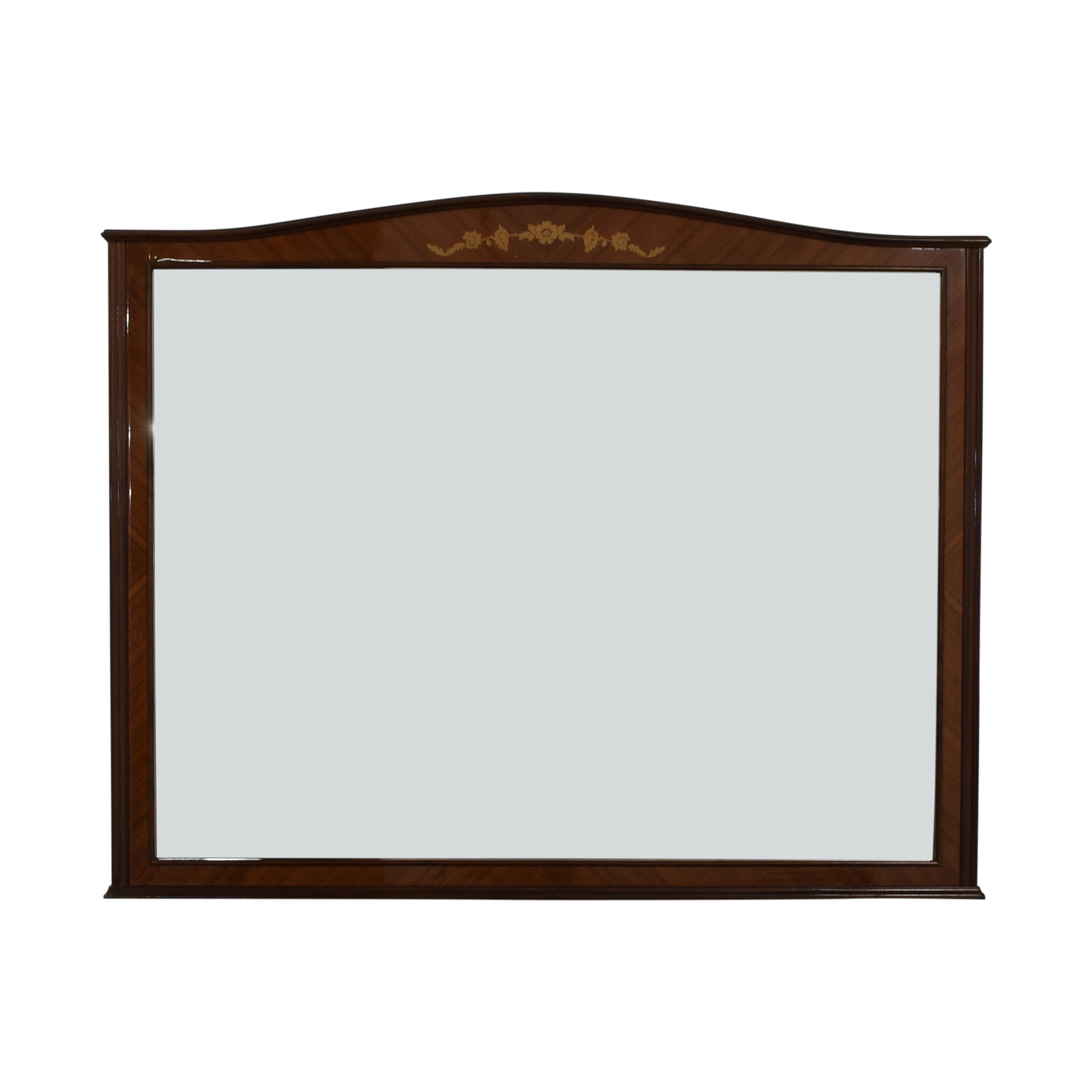 shop Roma Roma Wood Framed Wall Mirror online