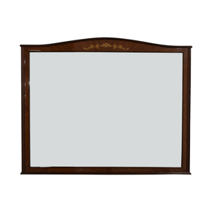 Roma Wood Framed Wall Mirror price