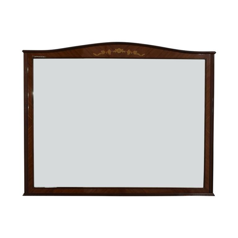 Roma Roma Wood Framed Wall Mirror on sale