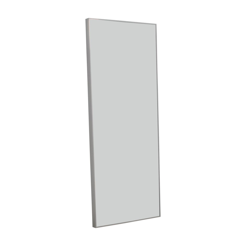 39 Off Ikea Ikea Hovet White Framed Floor Mirror Decor