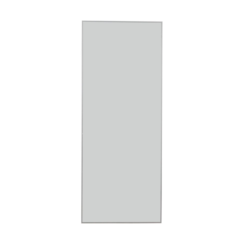 IKEA IKEA Hovet White Framed Floor Mirror Decor