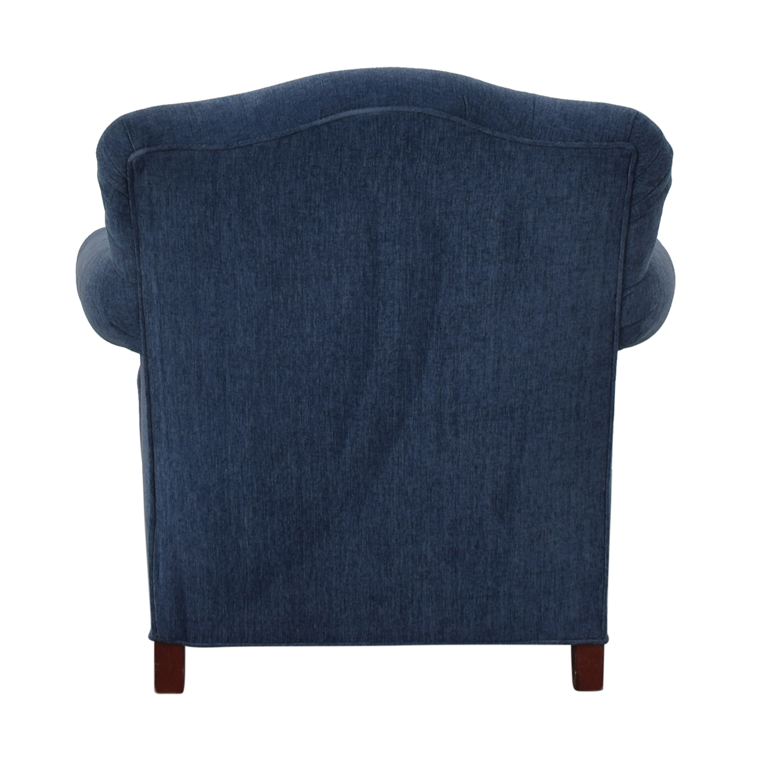 Incredible 87 Off Blue Upholstered Arm Chair Chairs Caraccident5 Cool Chair Designs And Ideas Caraccident5Info