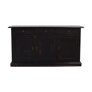 Pottery Barn Pottery Barn Three-Drawer Wood Buffet price