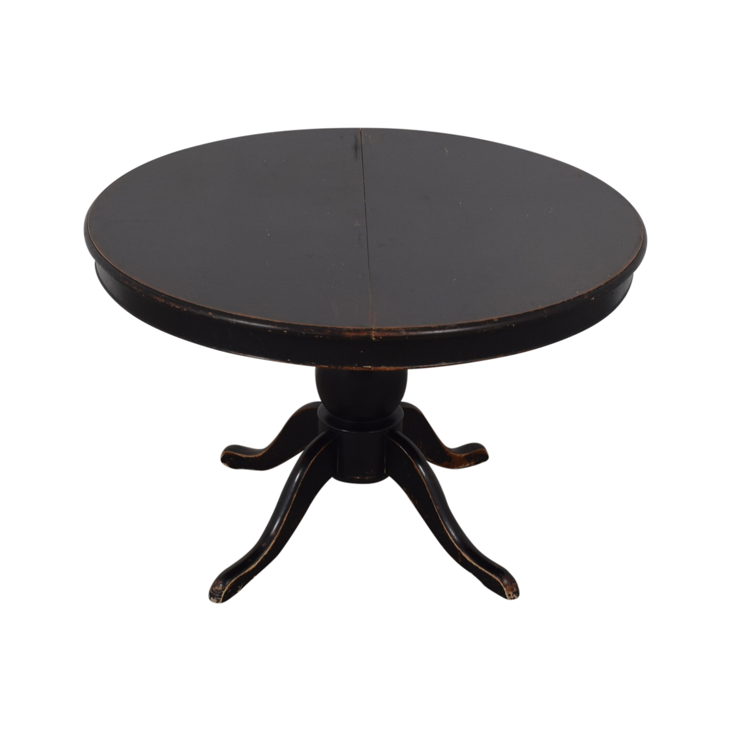 buy Crate & Barrel Avalon Round Extendable Dining Table Crate & Barrel