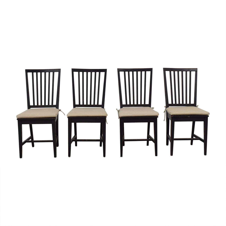 Cra Cra Village Bruno Black Dining Chairs
