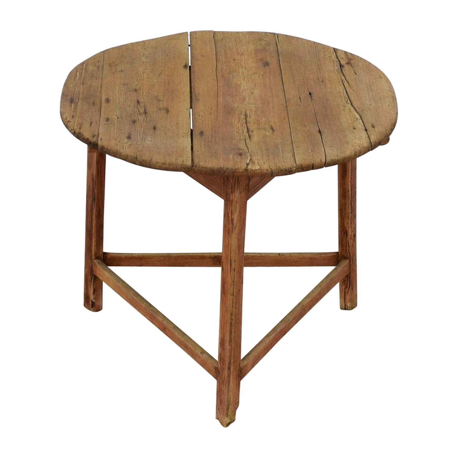 Reclaimed Wood Antique Table price