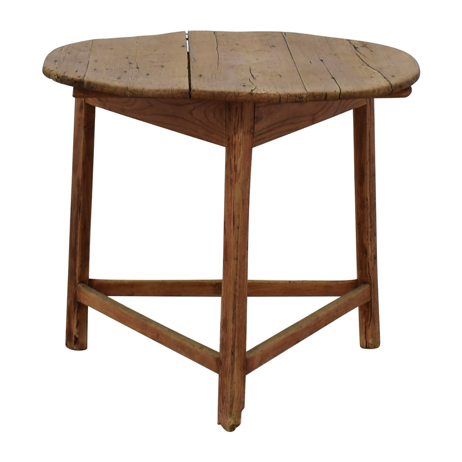 Reclaimed Wood Antique Table dimensions