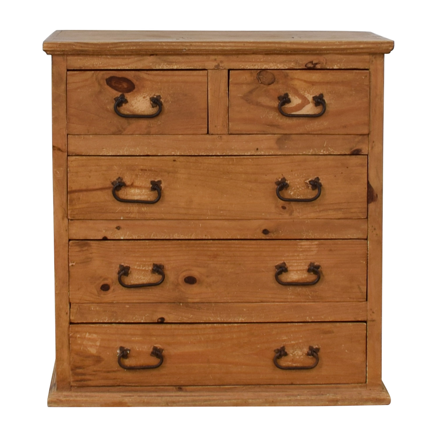 Pottery Barn Pottery Barn Wood Five-Drawer Dresser nyc