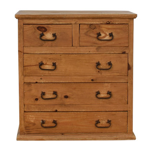 Pottery Barn Pottery Barn Wood Five-Drawer Dresser for sale