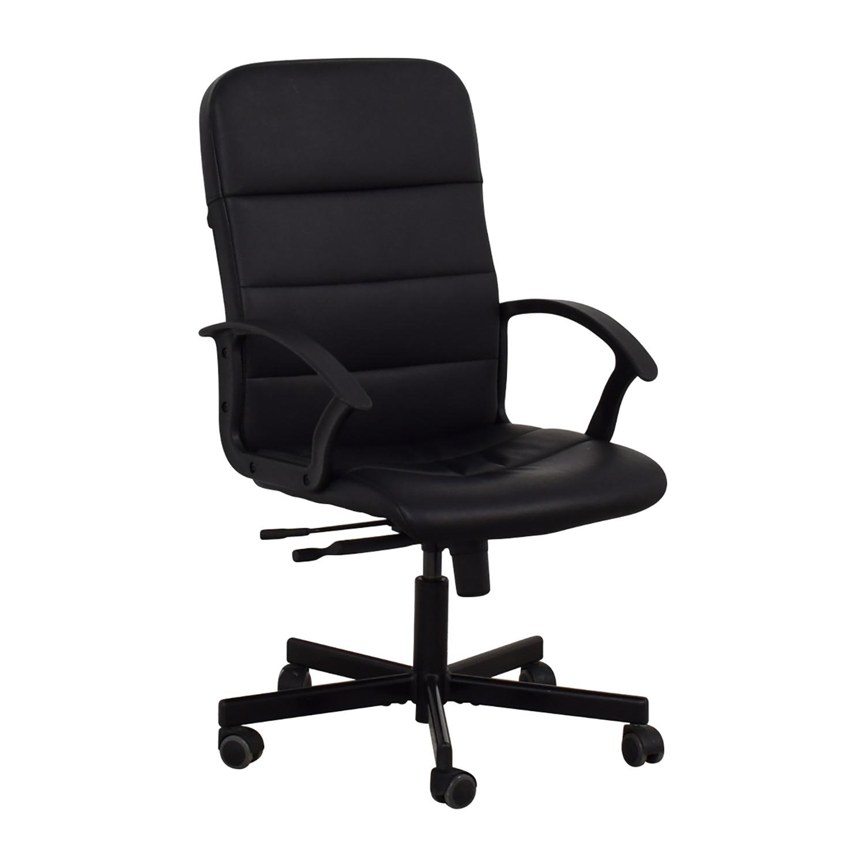 75 Off Ikea Black Office Chair
