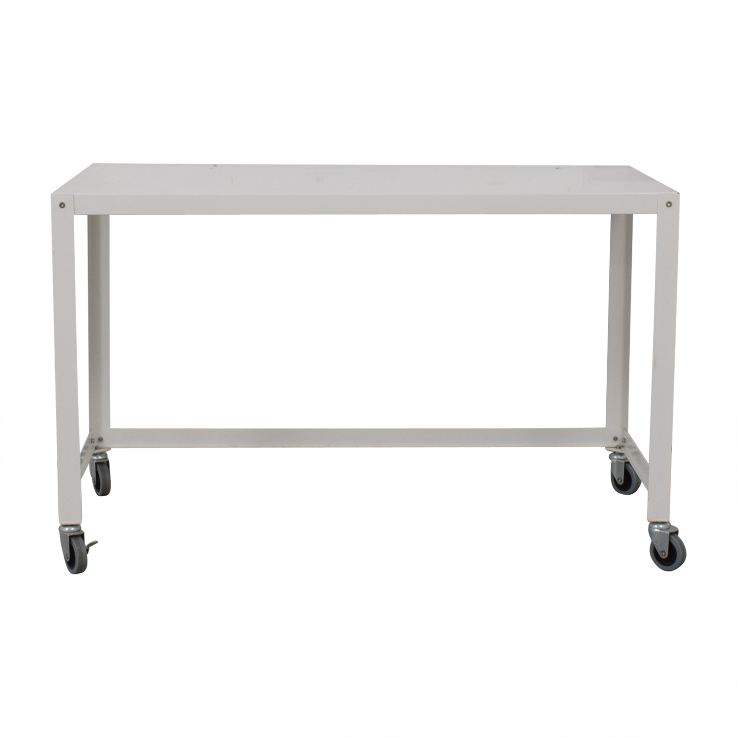 IKEA IKEA White Metal Desk discount
