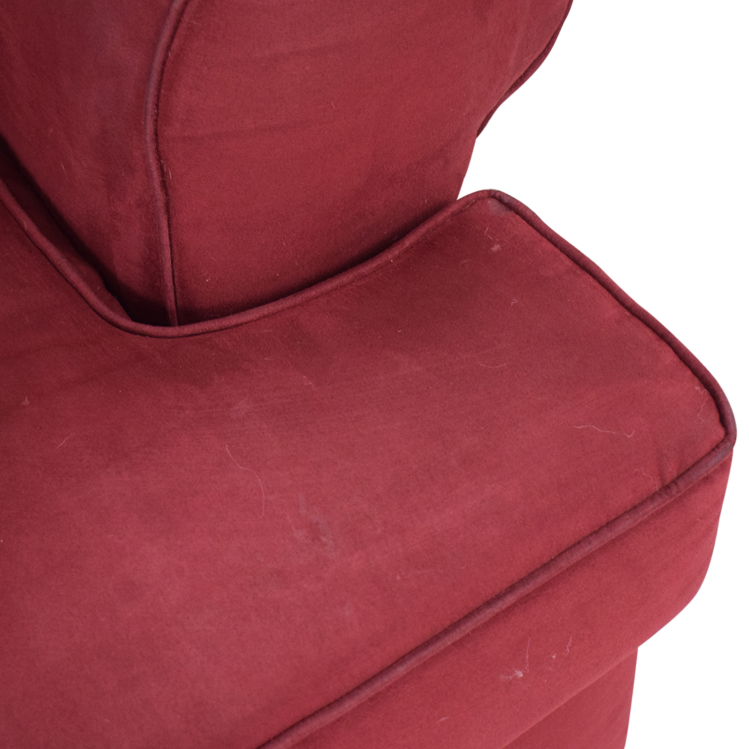 Rooms To Go Rooms To Go Emsworth Scarlet Chair used
