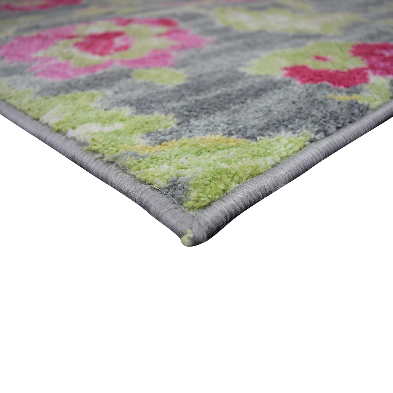 HomeGoods Multi-Colored Floral Rug / Decor
