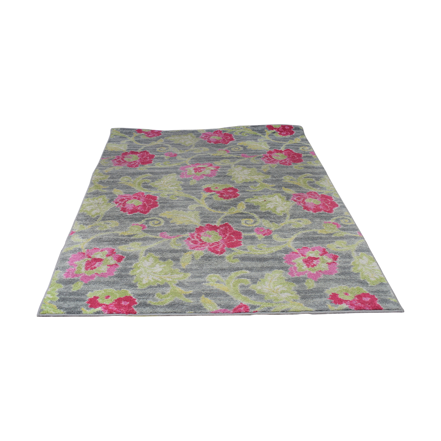 HomeGoods HomeGoods Multi-Colored Floral Rug multi color