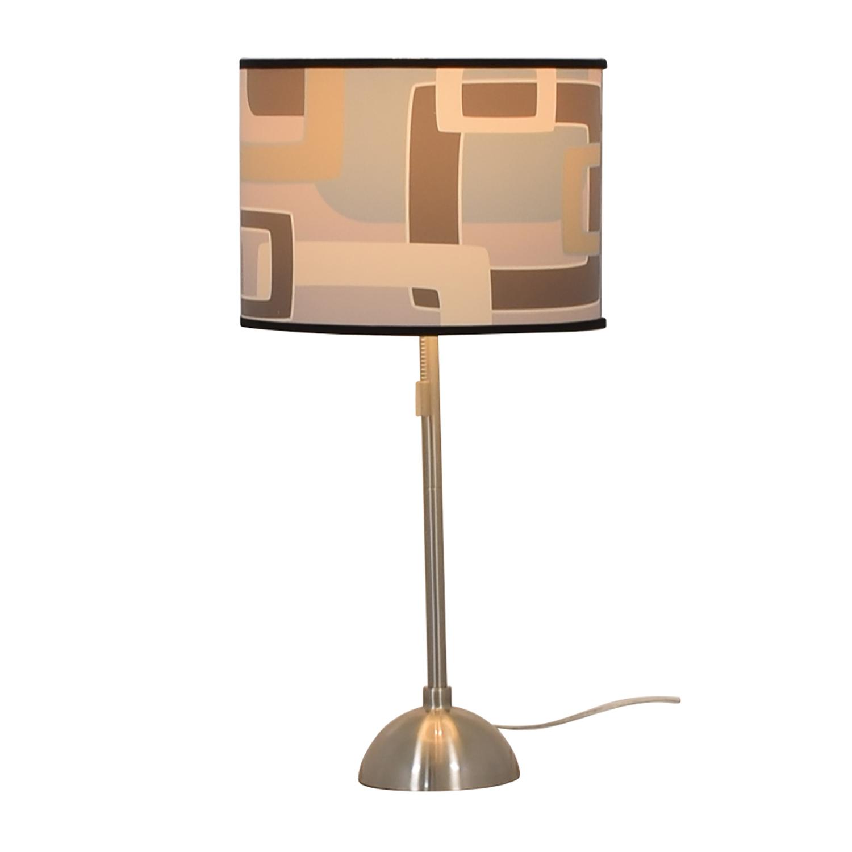 Patterned Table Lamp nj