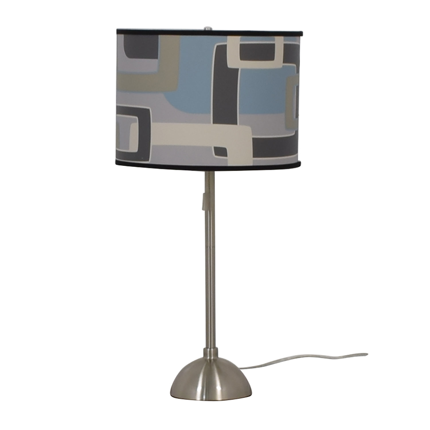 Patterned Table Lamp Decor