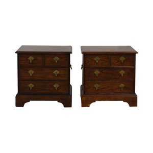 shop Four-Drawer Wood End Tables