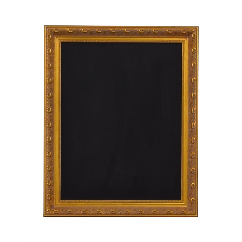 Ballard Designs Ballard Designs Gold Framed Chalkboard Decorative Accents