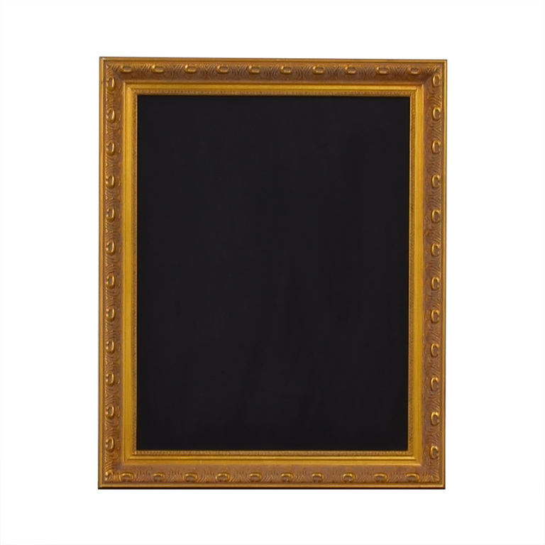 Ballard Designs Ballard Designs Gold Framed Chalkboard for sale