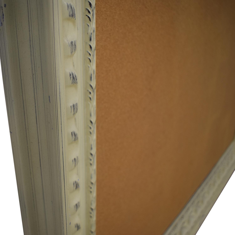 Rustic Framed Cork Board sale