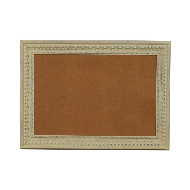 Ballard Design Rustic Framed Cork Board coupon
