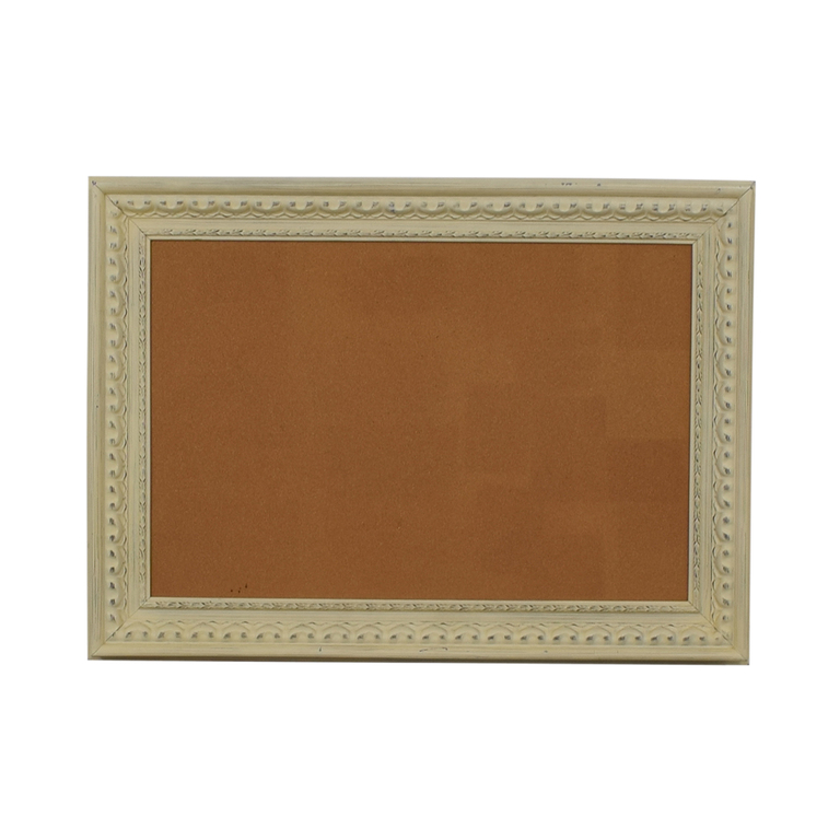 Ballard Design Rustic Framed Cork Board dimensions