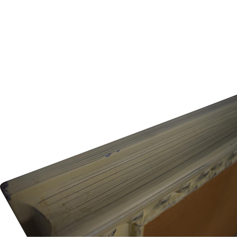 buy Rustic Framed Cork Board Ballard Design Decorative Accents