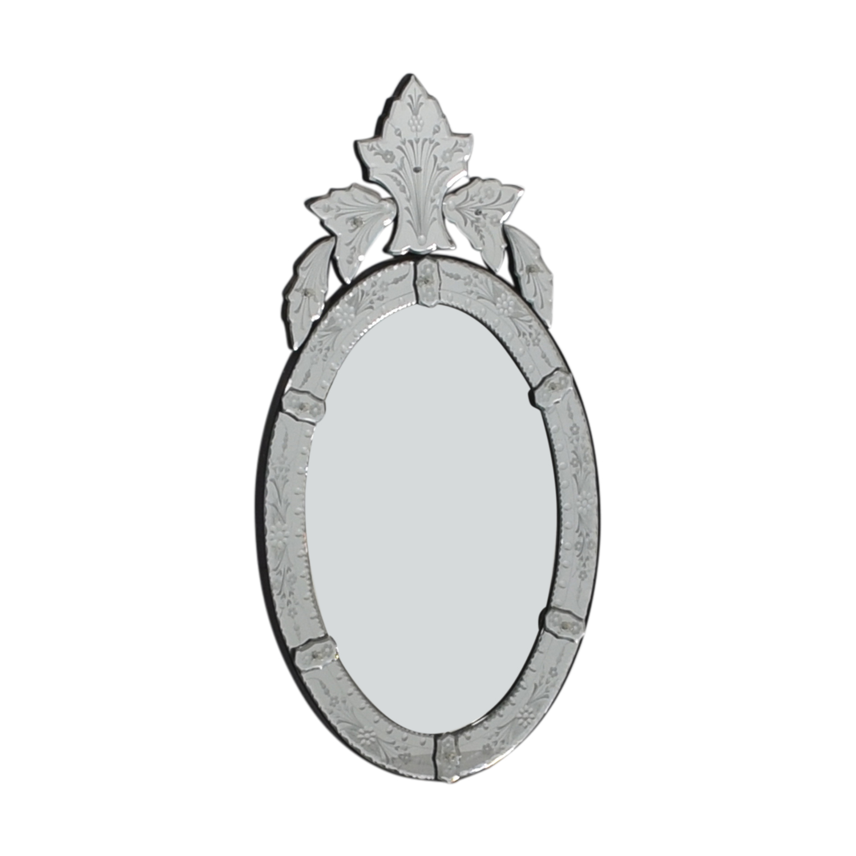 buy  Etched Scalloped Venetian Mirror online