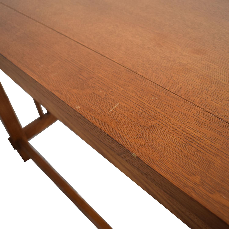 shop Bassett Furniture Bassett Mission Two-Drawer Desk online