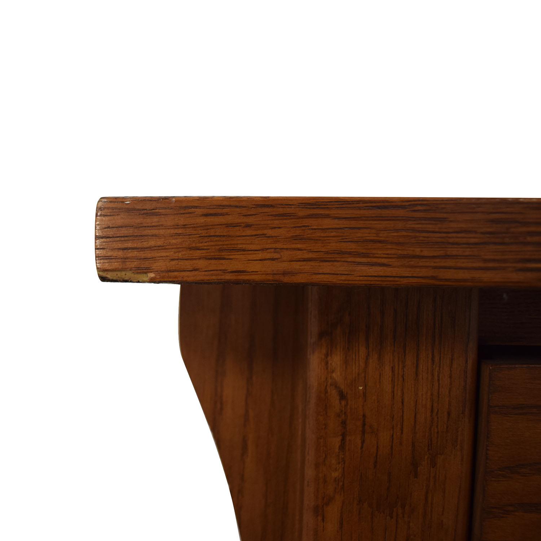 Bassett Bassett Mission Two-Drawer Desk