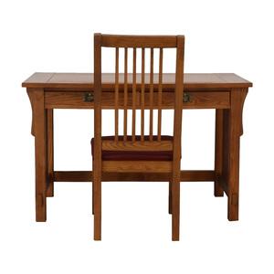 Bassett Furniture Bassett Mission Two-Drawer Desk on sale