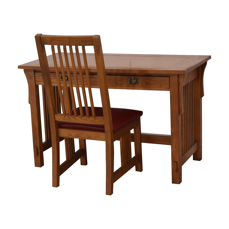 shop Bassett Bassett Mission Two-Drawer Desk online