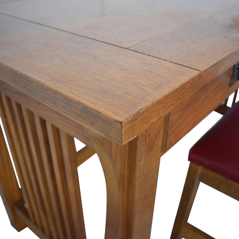 buy Bassett Bassett Mission Two-Drawer Desk online