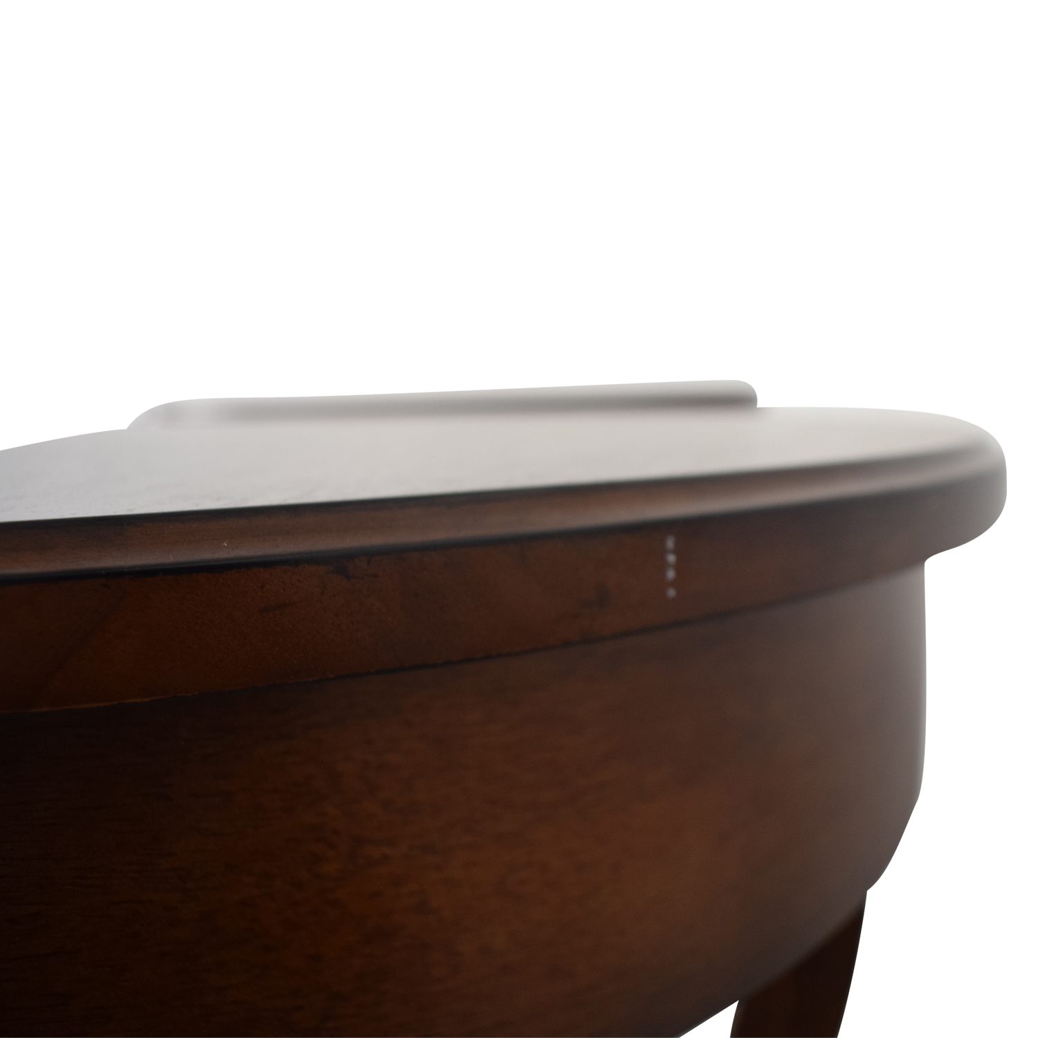 shop Pottery Barn Carrie Round Single-Drawer Pedestal End Tables Pottery Barn