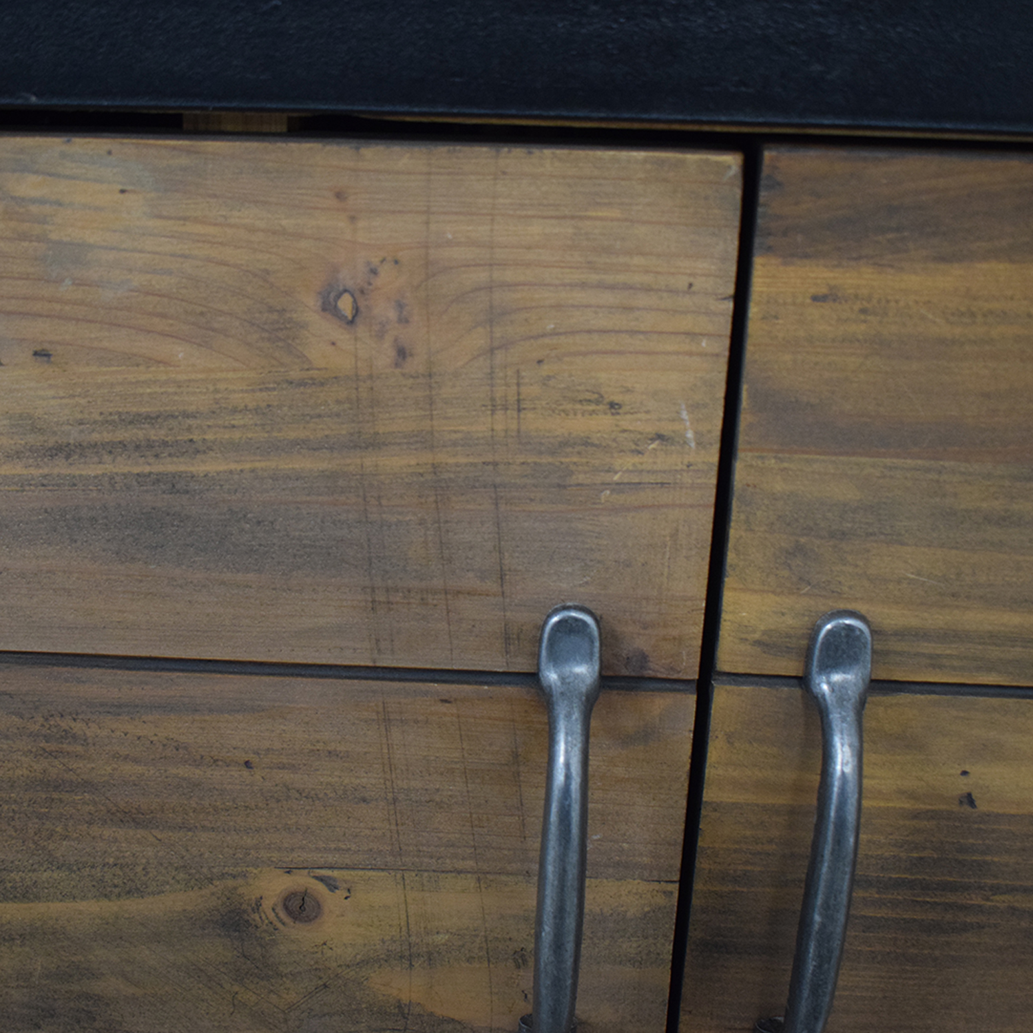 Rustic Single Drawer Wine Cabinet coupon