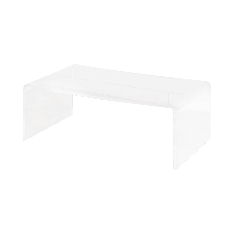 CB2 CB2 Peekaboo Acrylic Ghost Coffee Table / Tables