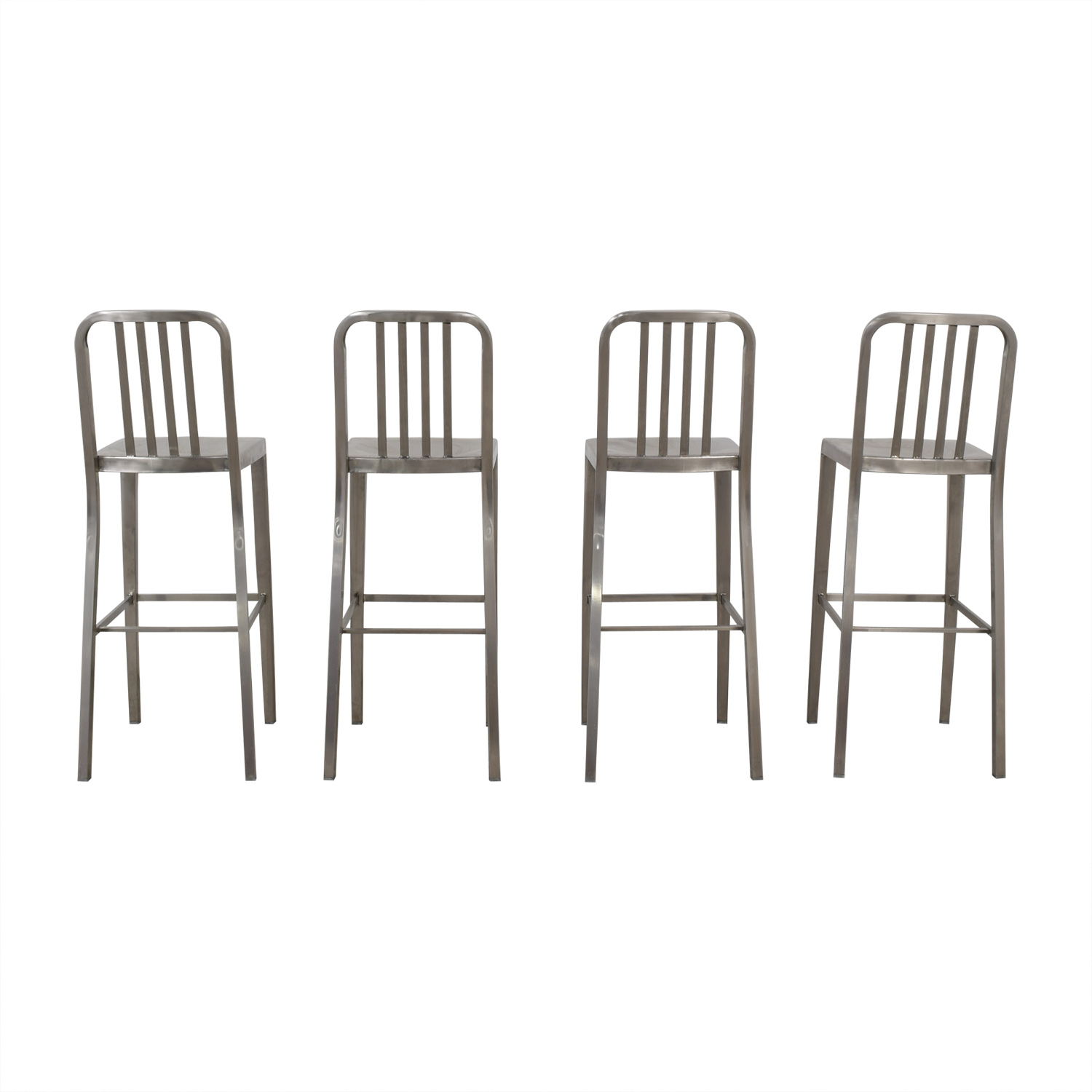 shop Chrome Bar Stools  Chairs