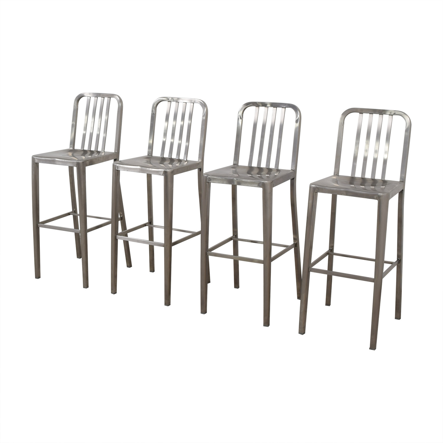 Chrome Bar Stools silver