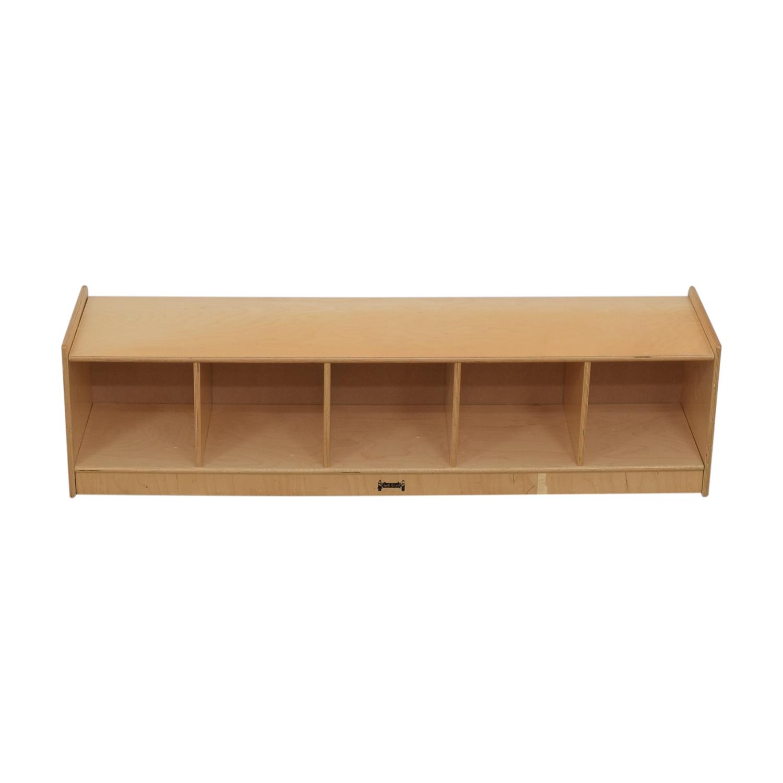 Jonti-Craft Children's Lateral Bookshelf used