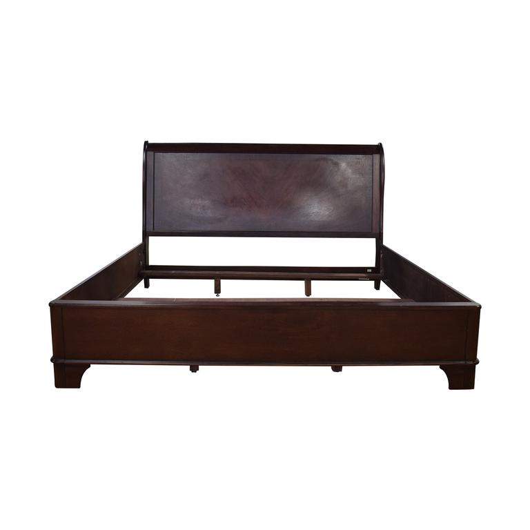 buy Macy's Macy's Wood King Bed Frame online