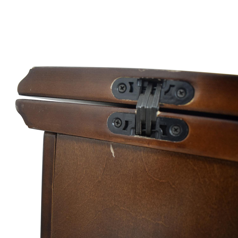 Wood Folding Leaf Bar / Utility Tables