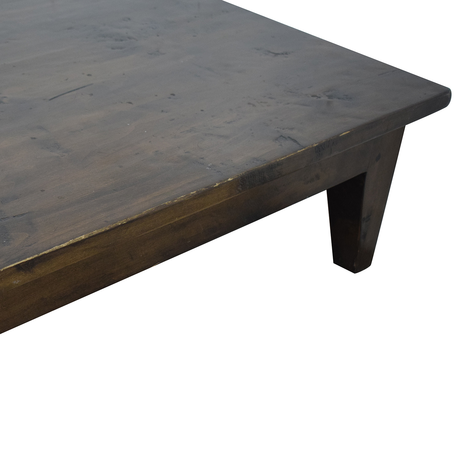 Vintage Single Drawer Low Profile Coffee Table for sale